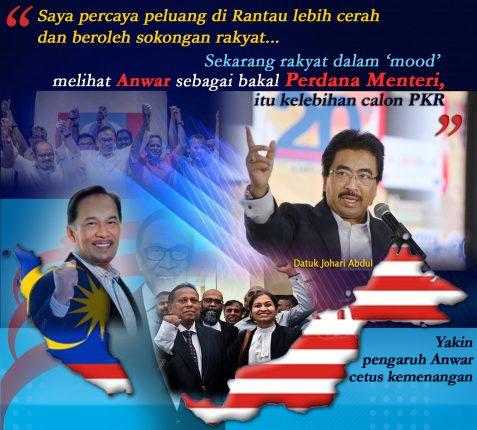 Datuk Johari Abdul_Anwar Ibrahim-PRK_Rantau