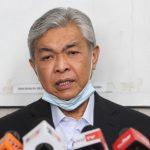 Zahid: Sukar bagi BN Beri Jawatan Ketua Menteri Sabah pada Bersatu