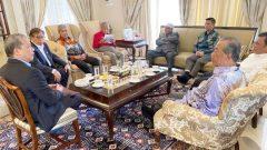 Mahathir Bersatu PAS-Umno meeting