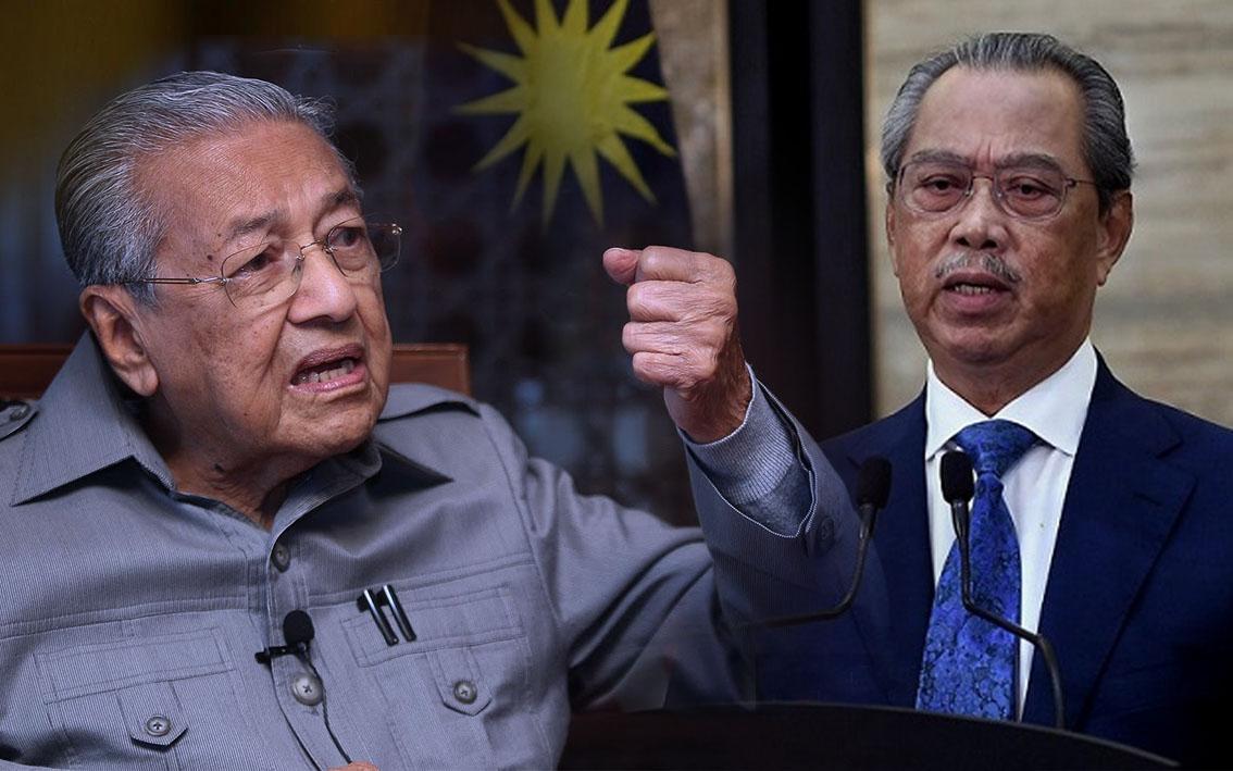 Mahathir - Muhyiddin Yassin