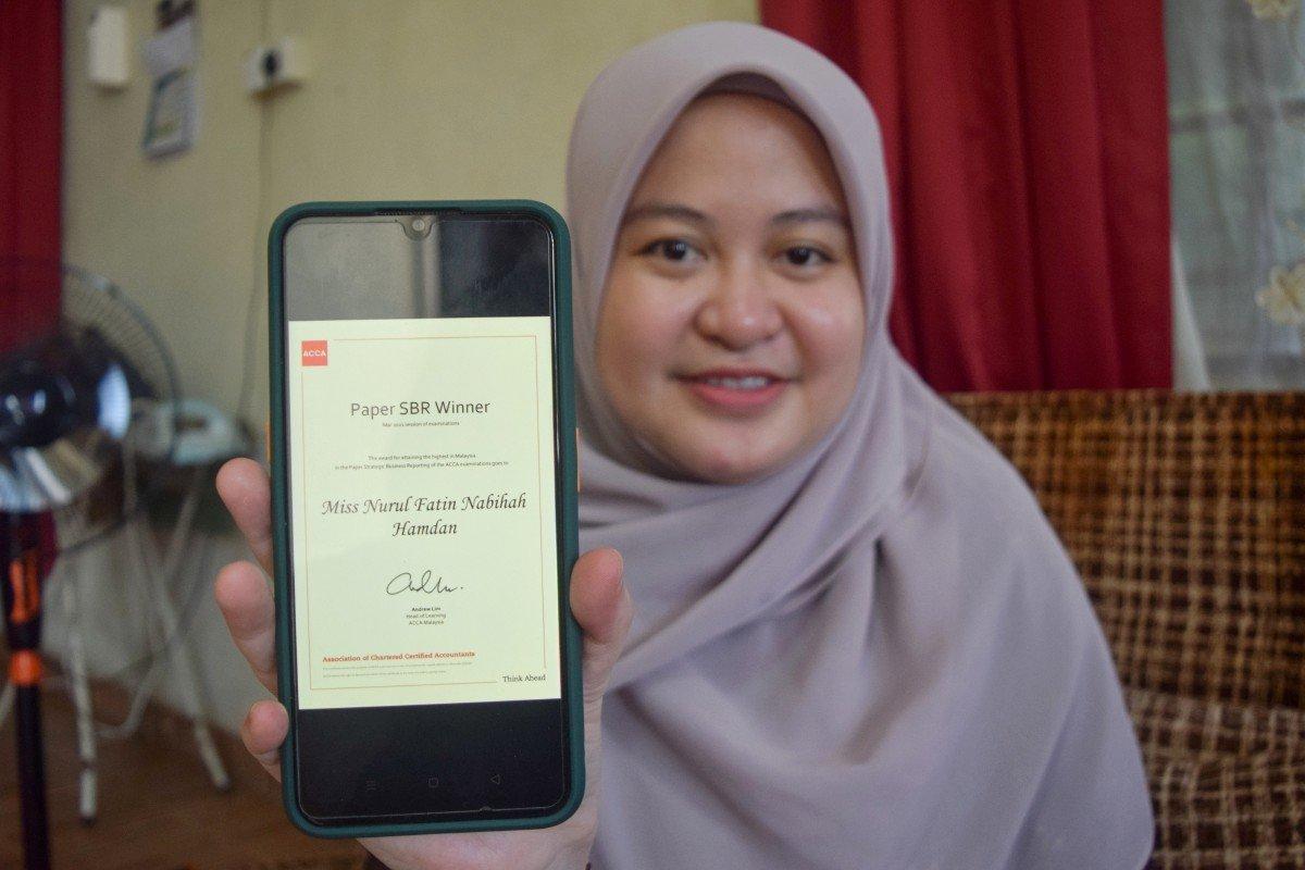 Nurul Fatin Nabihah Hamdan - Pelajar Malaysia Terbaik ACCA