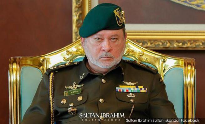 Sultan Johor Sultan Ibrahim Sultan Iskandar