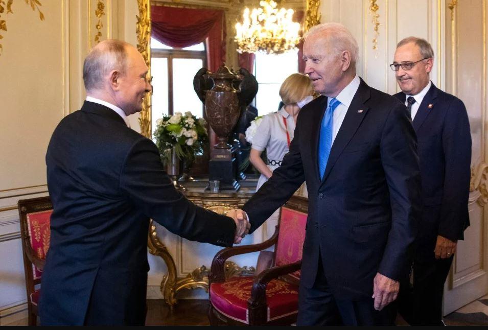 Joe Biden - Vladimir Putin
