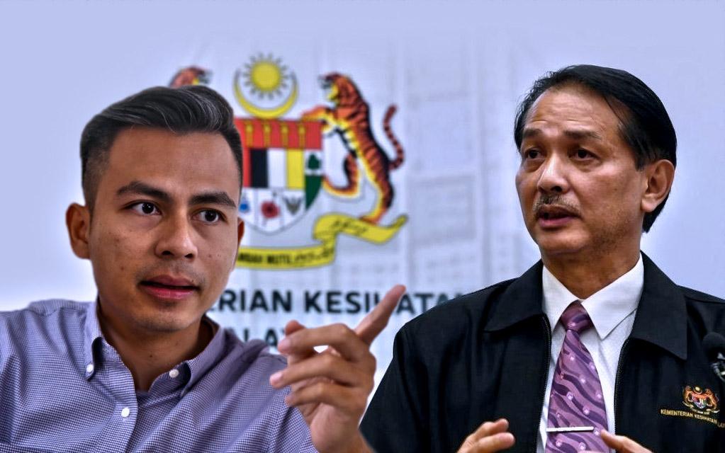 Fahmi Fadzil - Dr Noor Hisham Abdullah